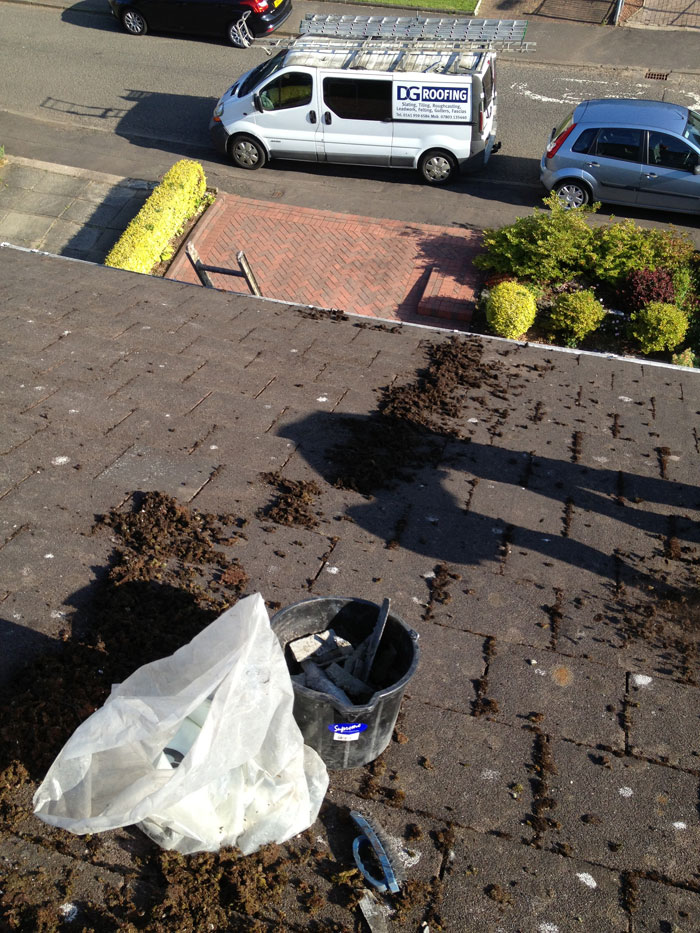 Gutter Cleaning Company Glasgow